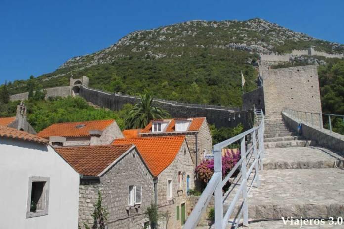 murallas de Ston en Croacia