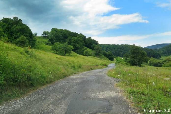 mal estado de las carreteras, viajar a Rumanía