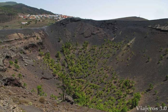 volcán de San Antonio en La Palma