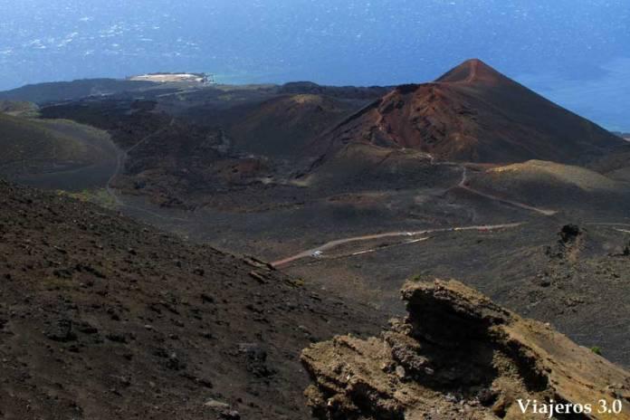 el Volcán de Teneguía en la Palma