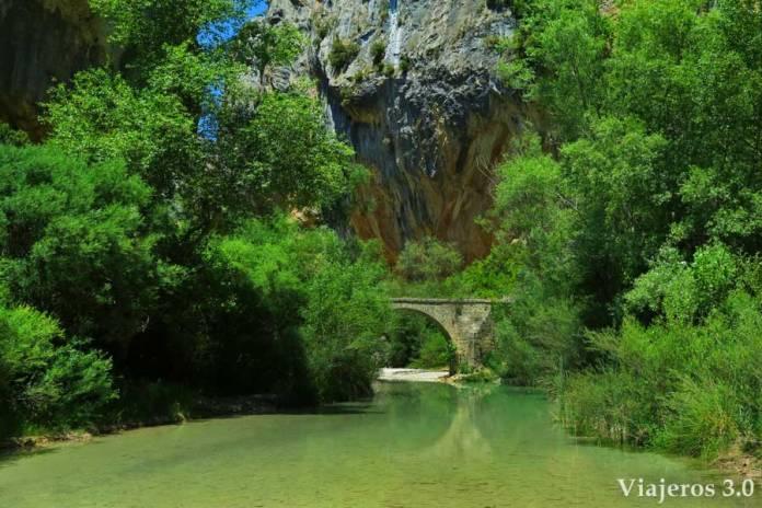 puente de Villacantal del río Vero