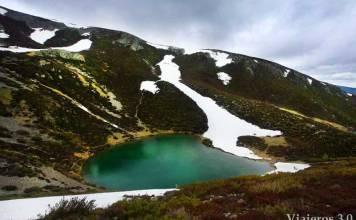 laguna glaciar del Pozo Negro, de Tres Aguas al Pozo Negro