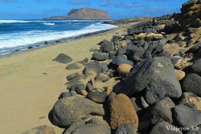 playa Baja del Ganado, La Graciosa