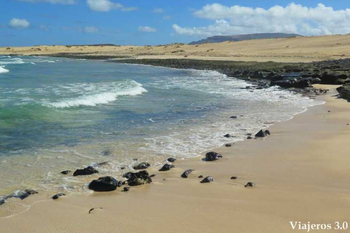 playa del Ámbar, La Graciosa
