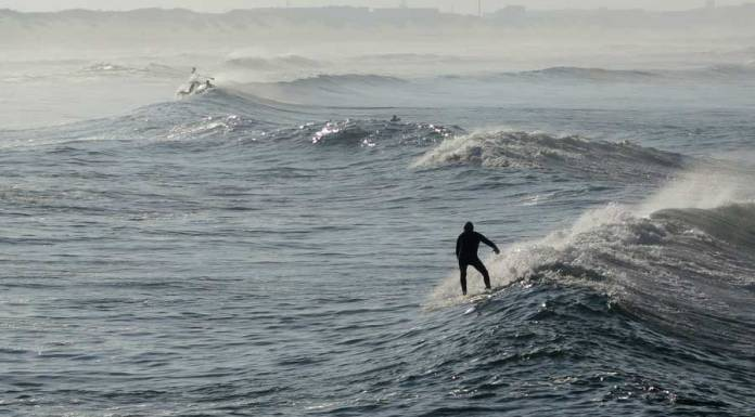 surf en Barra, playas de Aveiro