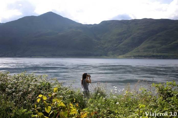 paisajes de las Highlands en ruta por Escocia