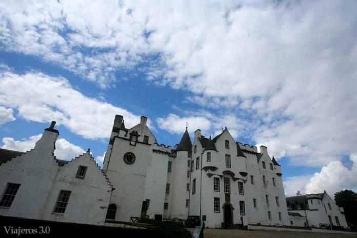 Blair Atholl Castle en ruta por Escocia
