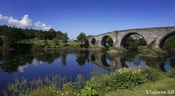 puente de Stirling, en ruta por Escocia