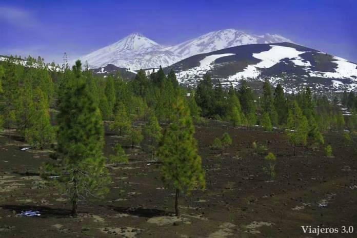 qué ver en el Teide con nieve