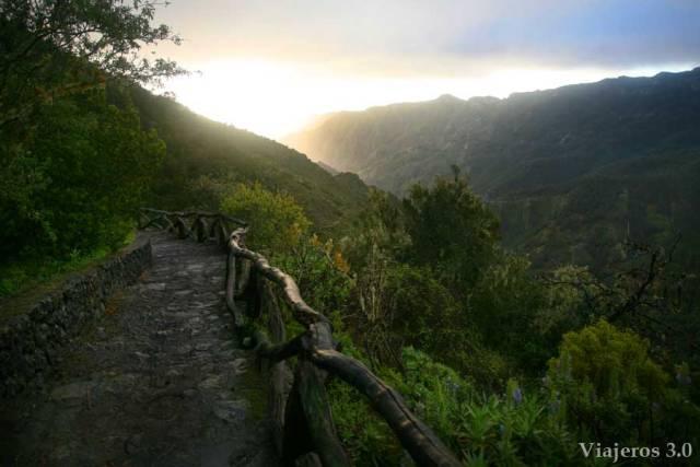 Miradores en Garajonay, La Gomera