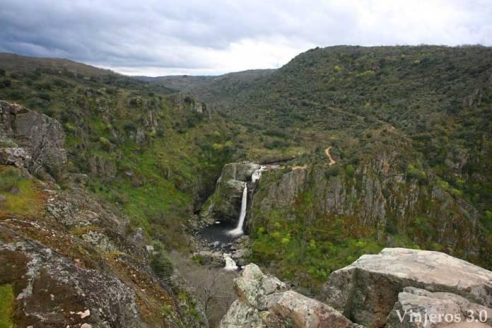 cascada Pozo de los Humos Arribes del Duero