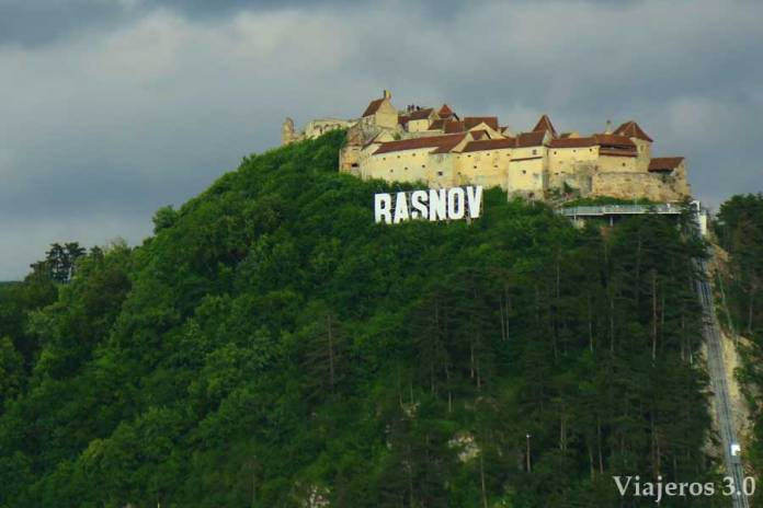 Ciudadela de Rasnov en Transilvania