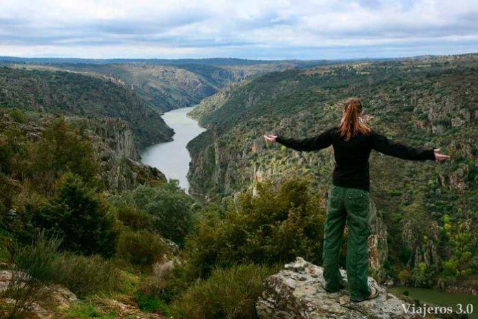mirador de las Barrancas en los Arribes del Duero