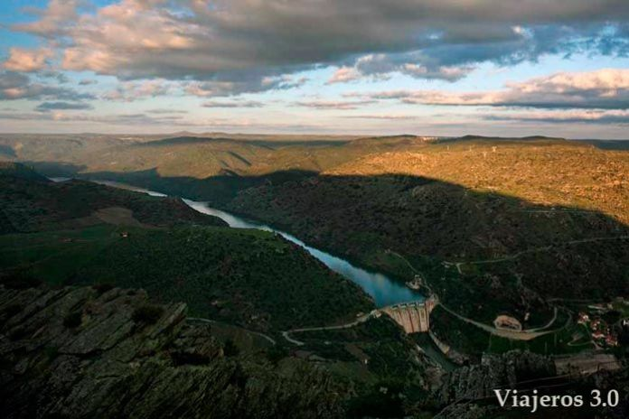mirador de Penedo Durao en Portugal