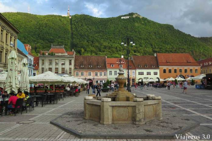 plaza en Sibiu, una semana en Rumanía