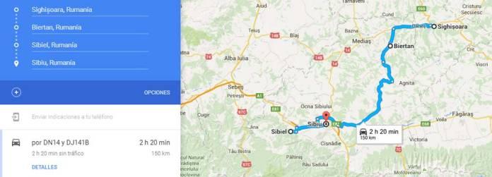 Rita de Sighisoara a Sibiu, en Rumanía