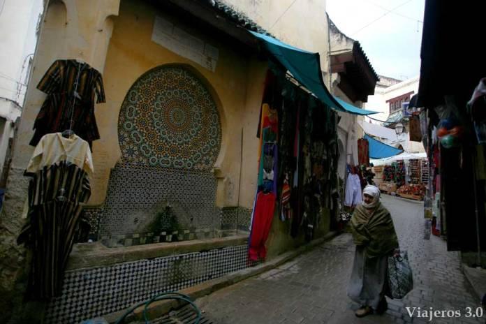Callejuelas de la Medina de Fez