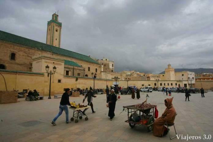 plaza Rcif, imprescindibles que visitar en Fez