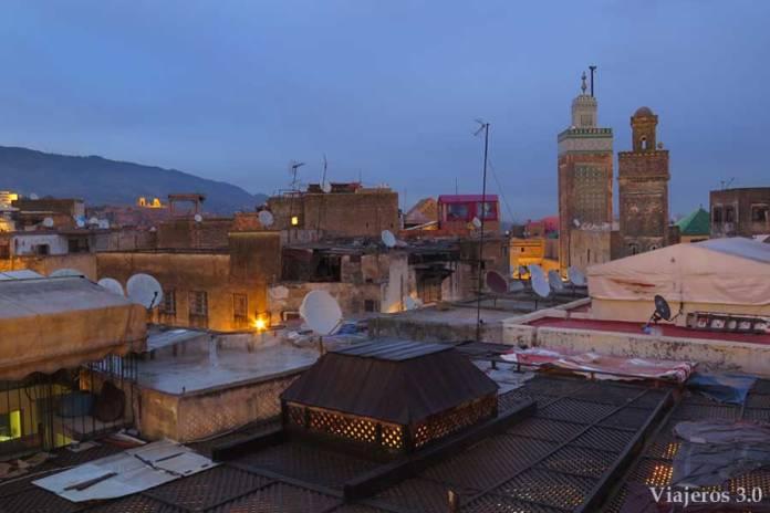 terrazas en La Medina.