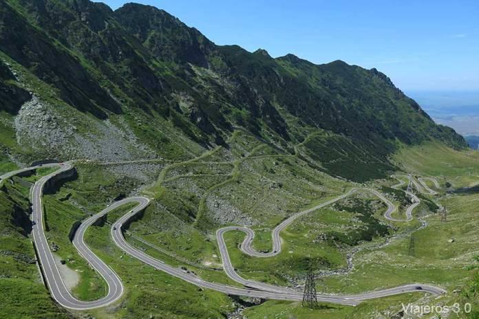 Curvas, qué ver en la carretera Transfagarasan