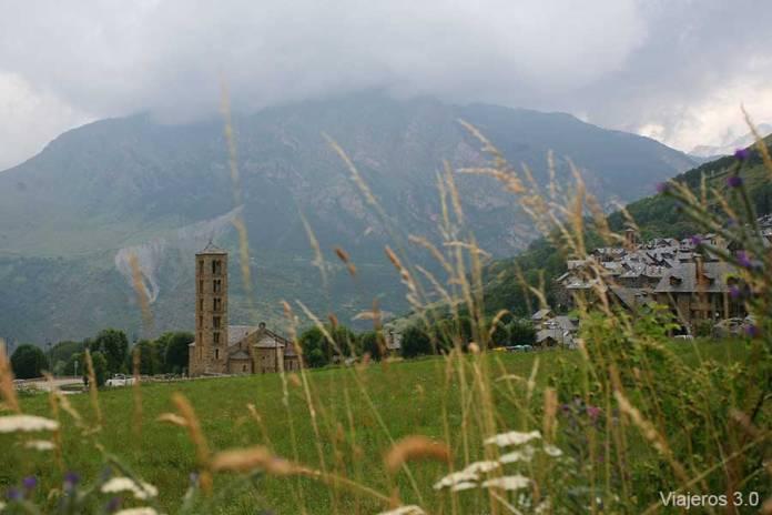 iglesias románicas en el valle de Bohí