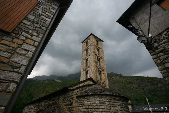 Santa Eulalia de Erill La Vall, iglesias románicas de La Vall de Boí