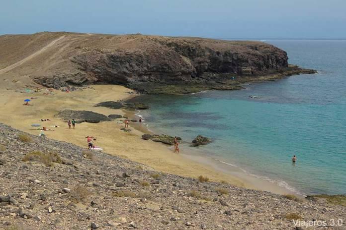 Playa Puerto Muelas, las mejores playas de Lanzarote
