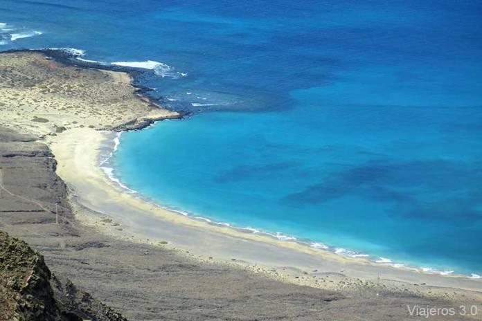 playa Bajo el Risco, las mejores playas de Lanzarote
