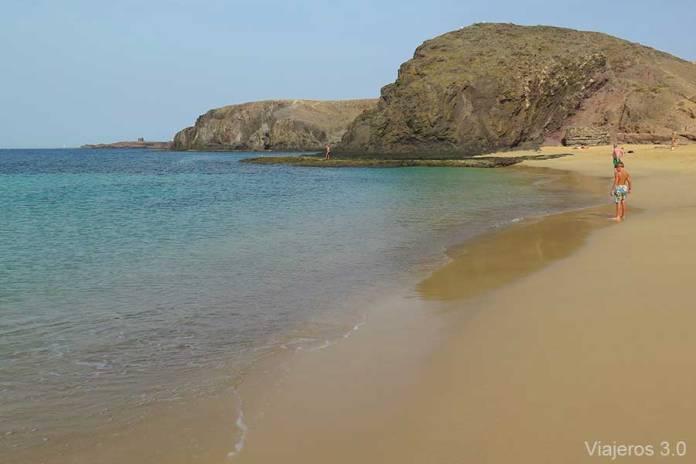 Playas Mujeres, las mejores playas de Lanzarote