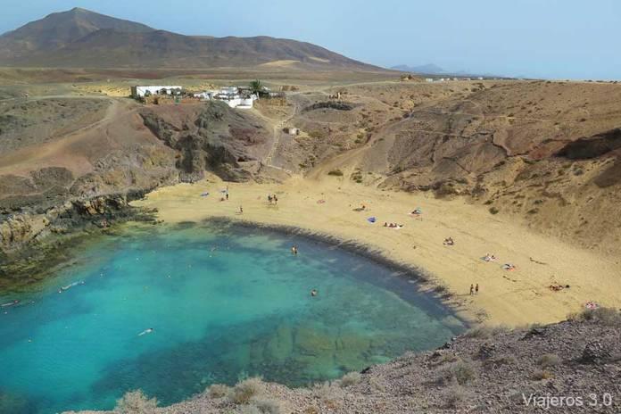 Que hacer y que ver en Lanzarote, playa Papagayo
