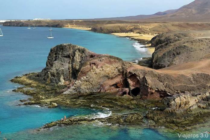 playas Punta del Papagayo