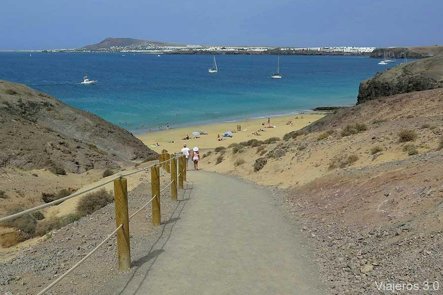 Punta del papagayo las mejores playas de lanzarote - Ofertas lanzarote agosto ...