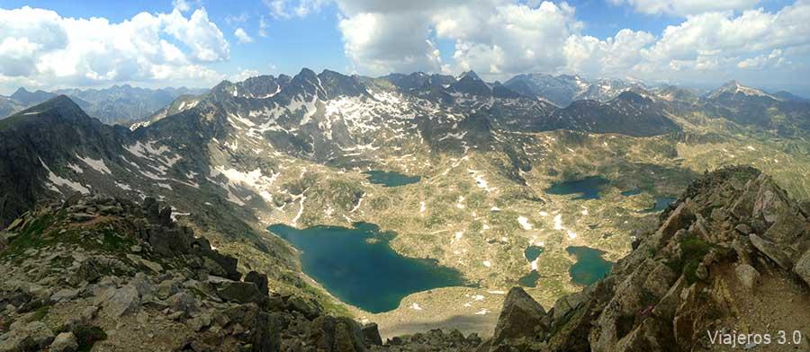 Una semana en el pirineo catal n aig estortes y valle de ar n - Casas rurales en el pirineo catalan ...