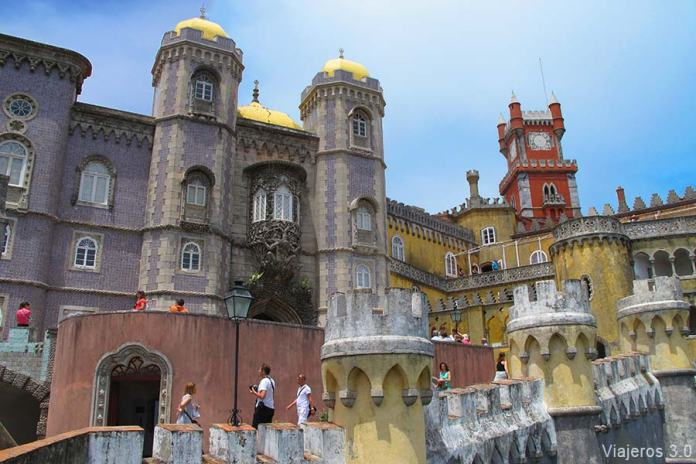 Palacio da Pena en Sintra, qué ver cerca de Lisboa
