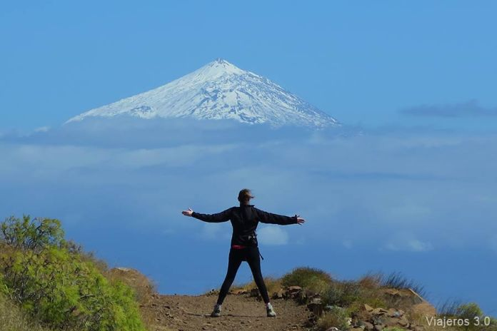 Qué ver en el Teide. El pico desde la Gomera