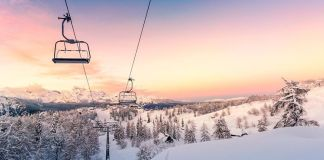 viajar en invierno, nieve