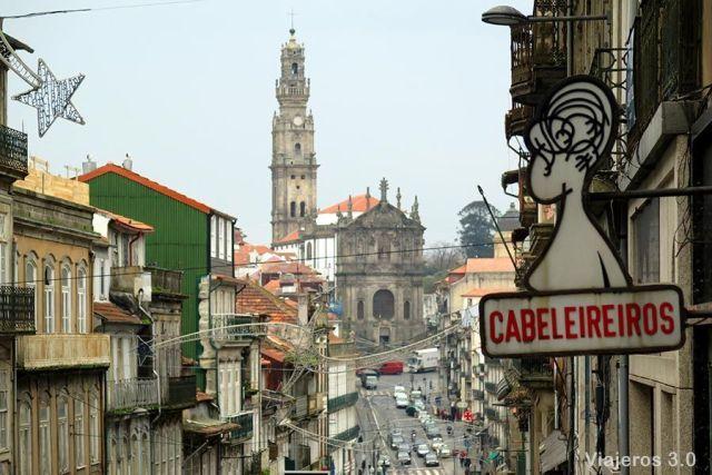 Torre de los Clérigos, dos días en Oporto
