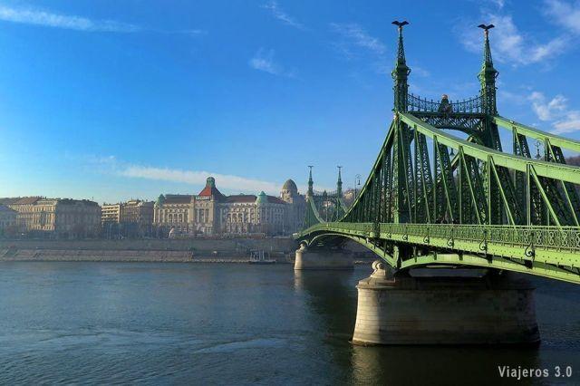 Qué ver en Budapest, puente de la Libertad