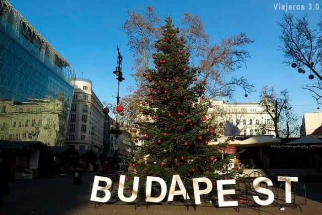 mercadillos navideños en Budapest