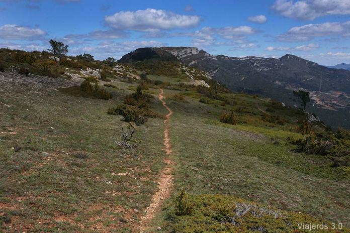 ruta de senderismo Canales de Madrid, Valle de Caderechas