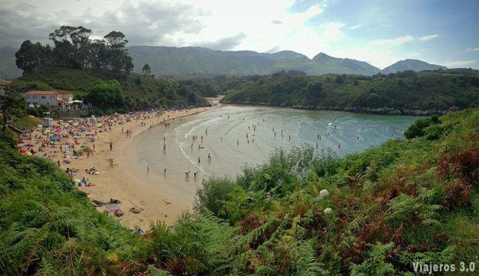 Playa de Poo, las mejores playas que ver en Llanes