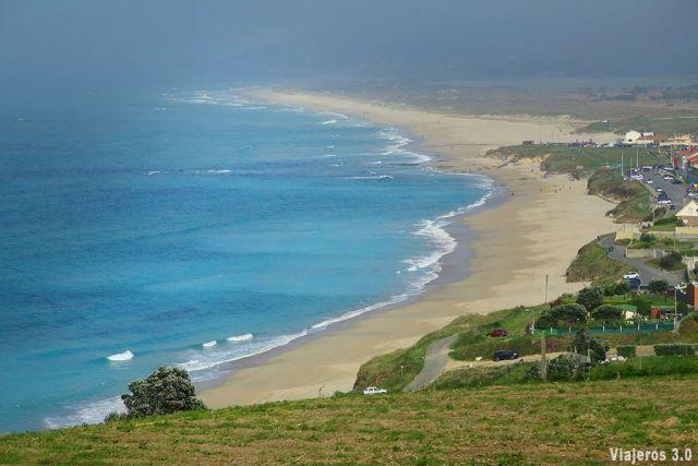 Playa de Razo, Escuela de Surf en Galicia