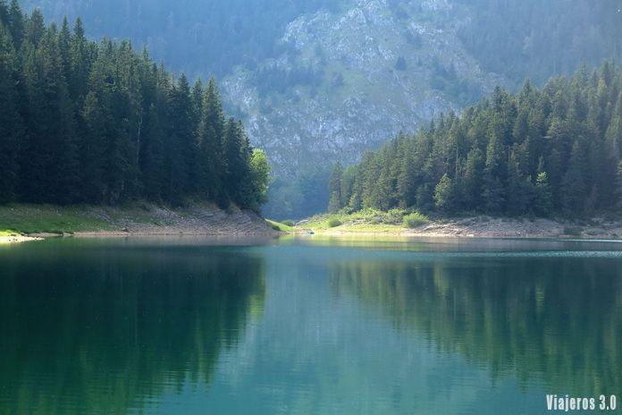 guía de Montenegro, lago negro en Dumitor