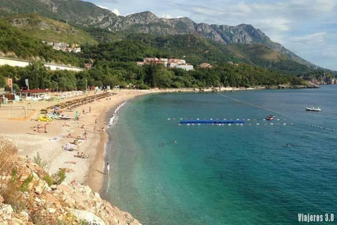 Kamenovo Beach, guía de Montenegro en una semana