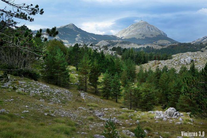 paisajes del Parque Nacional de Lovcen, guía de Montenegro