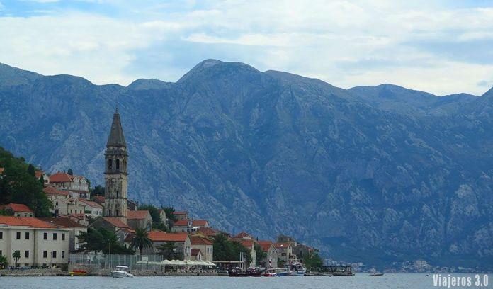 Perast, ruta por la Bahía de Kotor