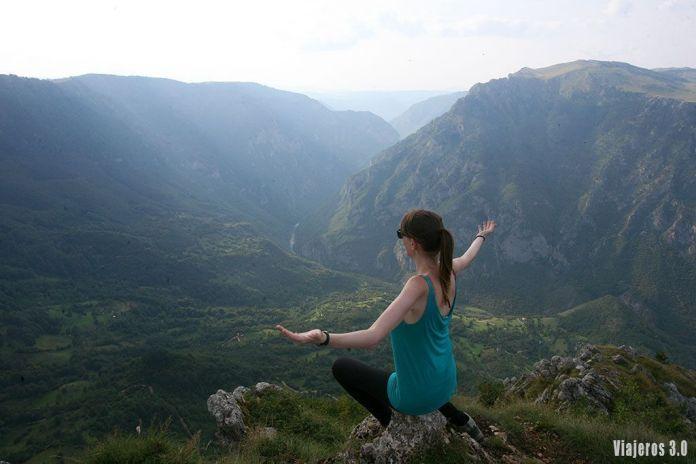 mirador del río Tara, Montenegro