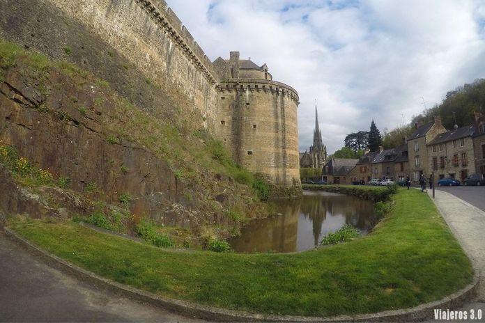 castillo de Fougeres, ruta por la Bretaña francesa en 4 días