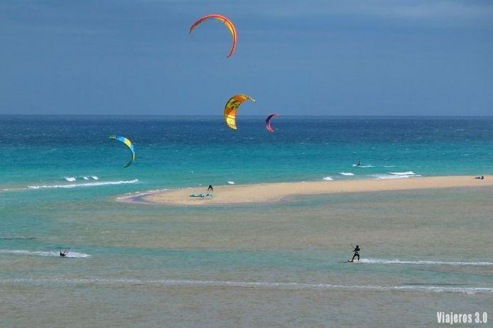 Sotavento, las mejores playas de Fuerteventura
