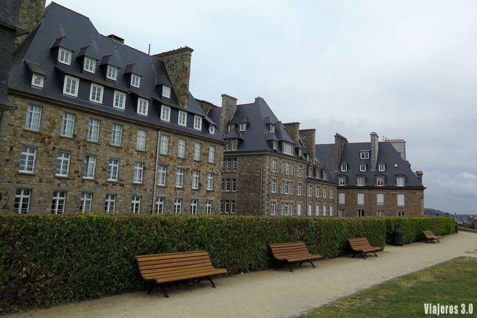 Saint-Malo en la Bretaña francesa